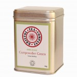 gunpowder green tin